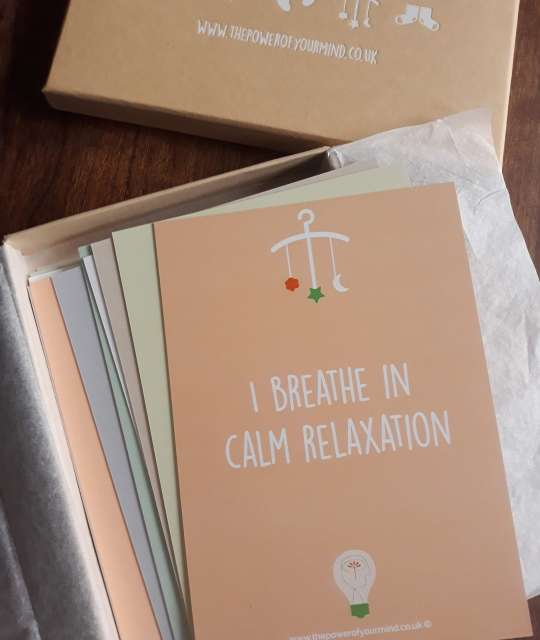Hypnobirthing affirmation cards