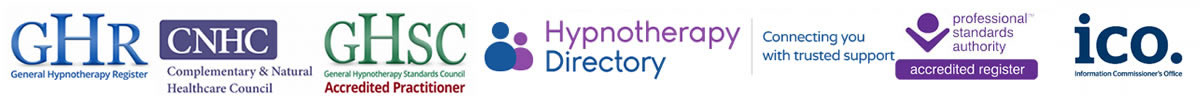 qualified hypnotherapy Accreditations