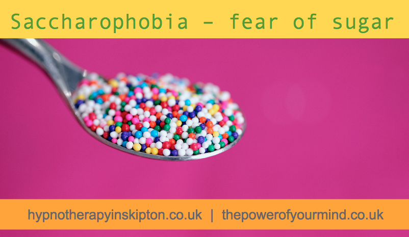 Saccharophobia – fear of sugar
