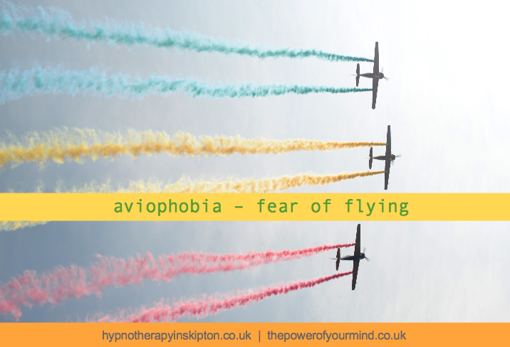 Aviophobia – fear of flying