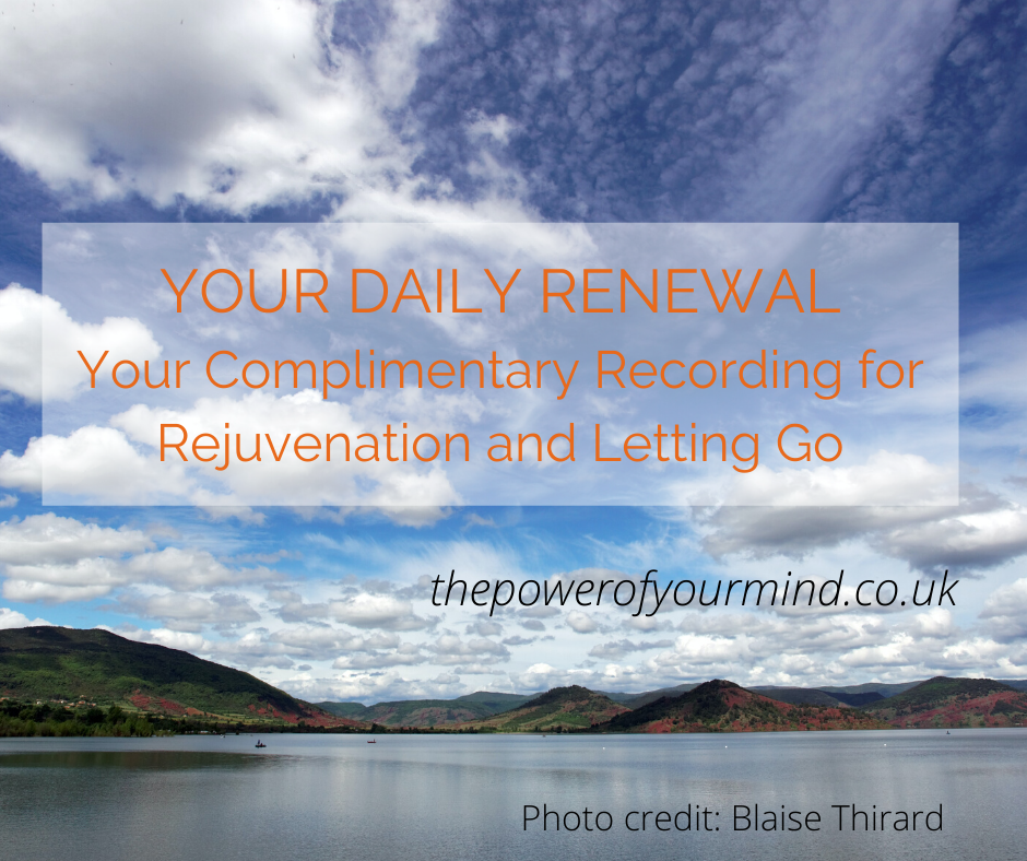 Complimentary Guided Relaxation; 'Your Daily Renewal'